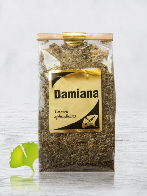 zioła Damiana. liście